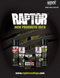 RAPTOR New Products 2018