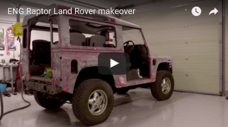 RAPTOR Land Rover Makeover