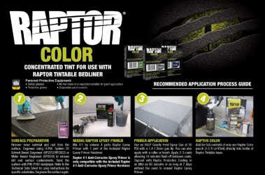 Tinting with Raptor Color SOP